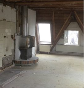 Sloopwerk grachtenpand (5 etages)