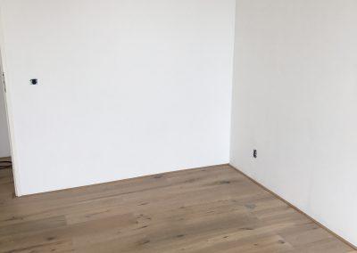 Appartement sausen en glasvezelbehang aanbrengen